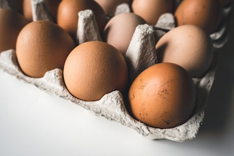 Crate of eggs