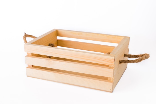 Crates made of pine