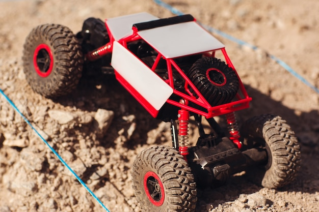 Crawler toy racing rally hobby adult leisure entertainment competition concept