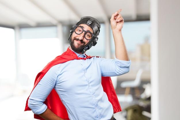 미친 사업가 영웅 행복 표현