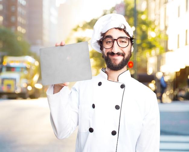 미친 요리사 행복 표현