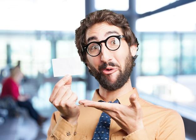 名前card.funny発現と狂気の男