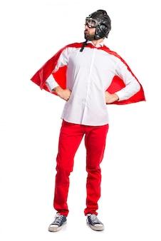 Сумасшедший супергерой гордится собой