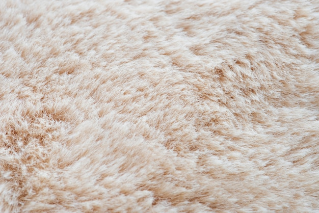 Cream fur background