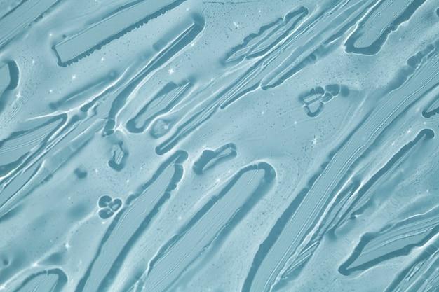 크림 젤 투명 화장품 샘플 질감 배경