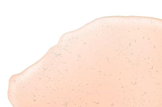 거품 배경 크림 젤 투명 화장품 세럼 오일 샘플 텍스처