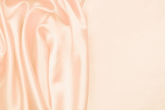 Cream silk texture luxurious satin for abstract background