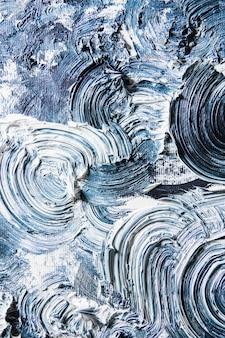 シームレスな背景、抽象的なアートワークのクリーム色のテクスチャ絵画。