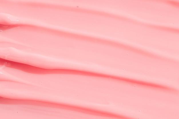 Сливочно-розовый лосьон для ухода за кожей, мусс, продукт крупным планом, персиковый крем, увлажняющий крем, солнцезащитный крем, косметика