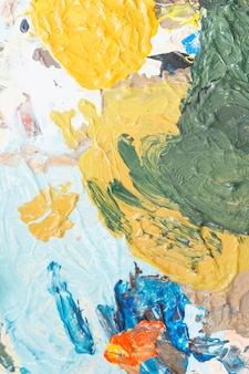 Creamy textured of mixed color painting backdrop