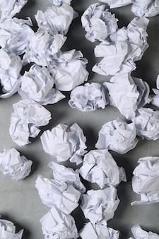 Мятой бумаги