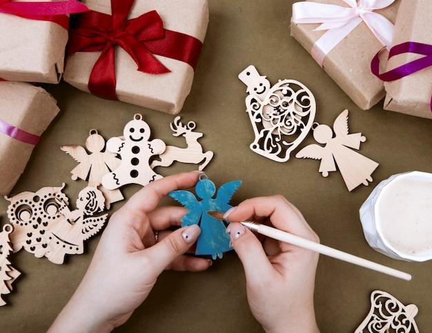 크리스마스 장난감 만들기