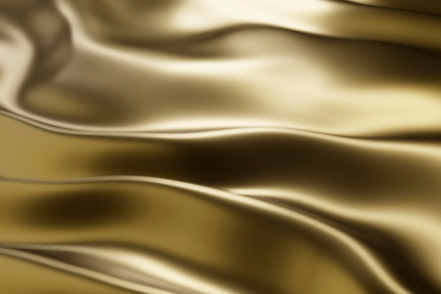 Struttura dorata astratta creativa