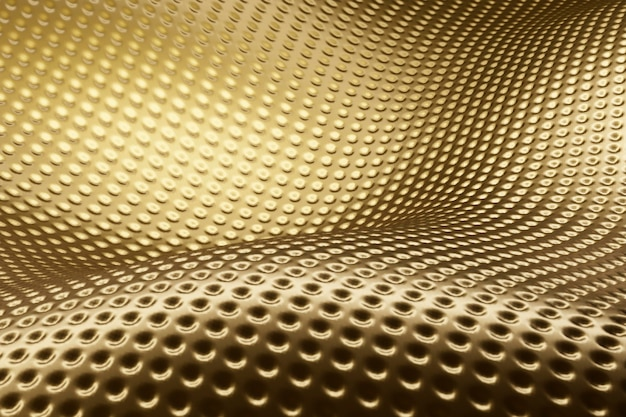 Creative abstract golden textured material