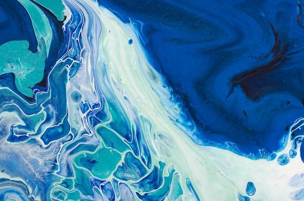 Творческая абстрактная ручная роспись. творческий абстрактный ручной росписью фон, обои, текстуры, крупный план акриловой живописи на холсте мазками кисти. современное искусство. современное искусство.