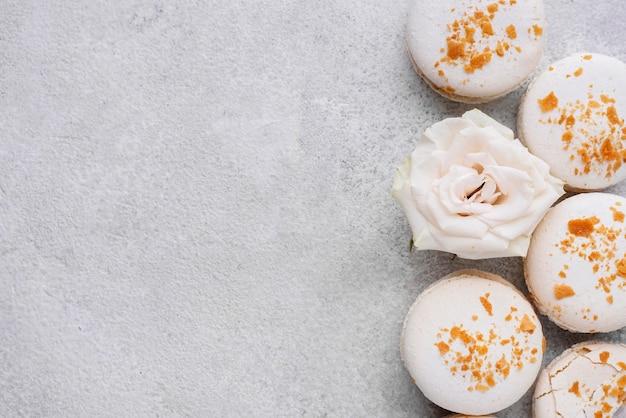 美味しいマカロンのクリエイティブなアレンジ