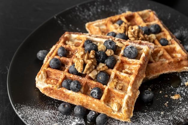 Assortimento creativo di pasto per la colazione
