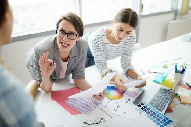 Creative businesswomen
