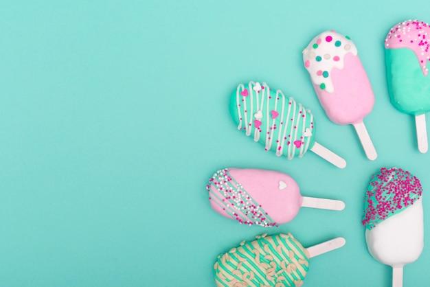 Creative cake pop concept