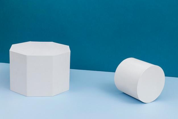 Composizione creativa del podio minimalista