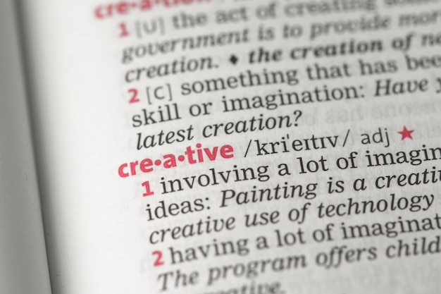 Creative definition