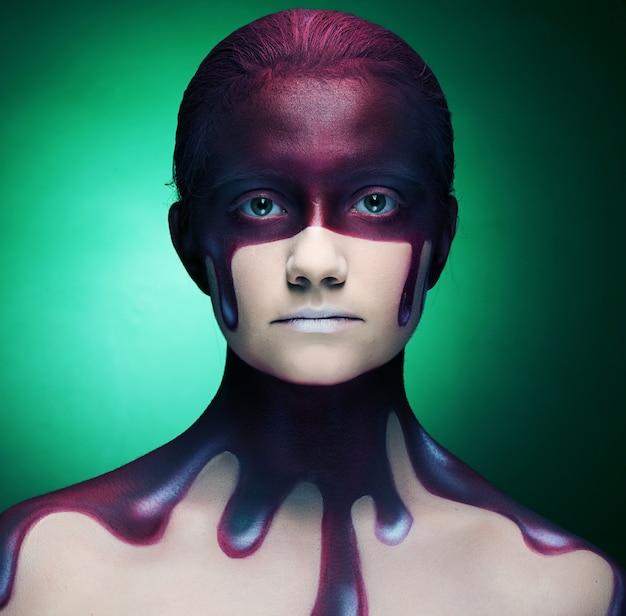 Creative face art
