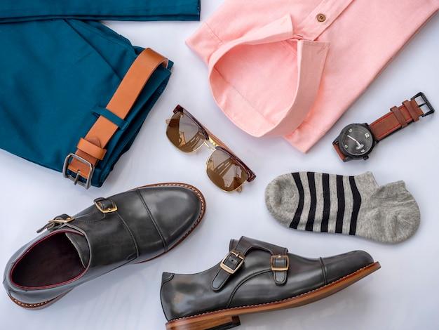 Creative fashion design for men casual clothing set