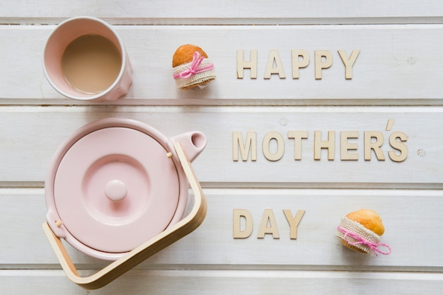Creative mother day composition