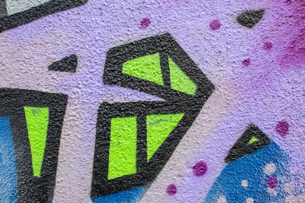 Creative mural graffiti background