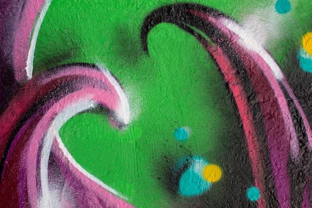 Creative mural graffiti wallpaper