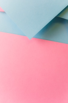 Creative paper design for pastel wallpaper