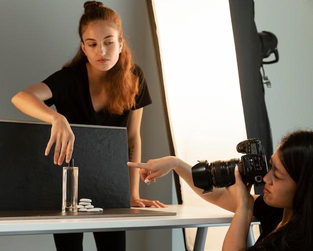 Creative product photography studio