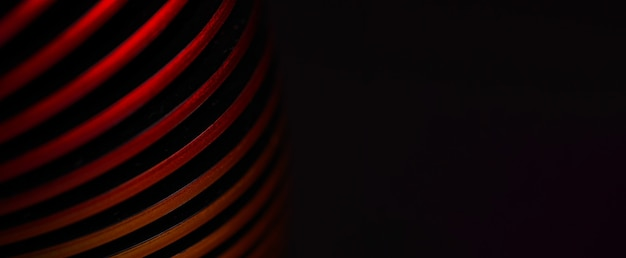 Creative red spiral,  abstract background image