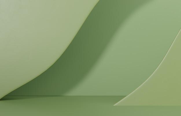 Креативная композиция сцены для презентации продукта