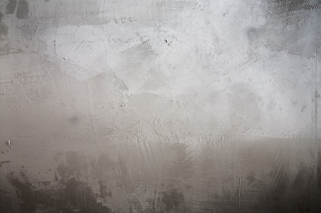 Creative stucco surface, neutral gray colors, old cement wall