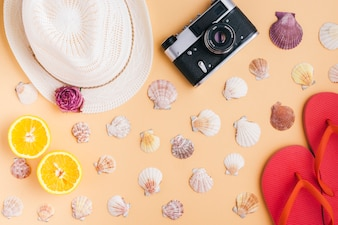 Creative summer composition