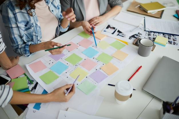 크리에이티브 팀 기획 로드맵