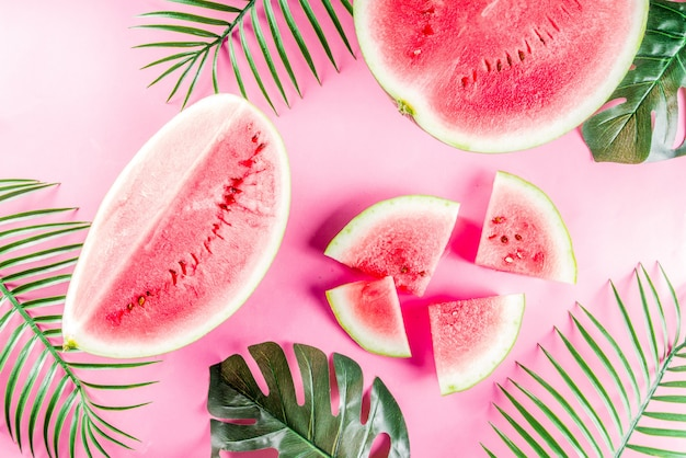 Creative watermelon layout