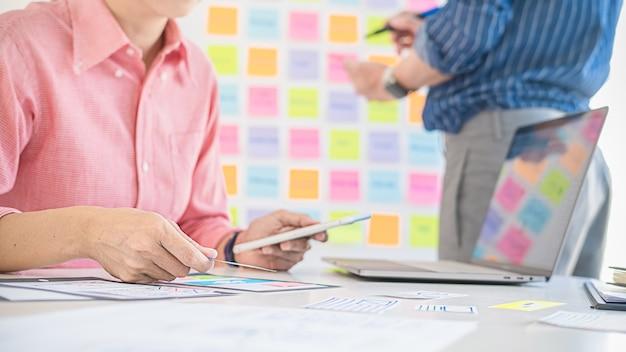 Приложение creative web designer для планирования и разработки макета шаблона, фреймворка для мобильного телефона.