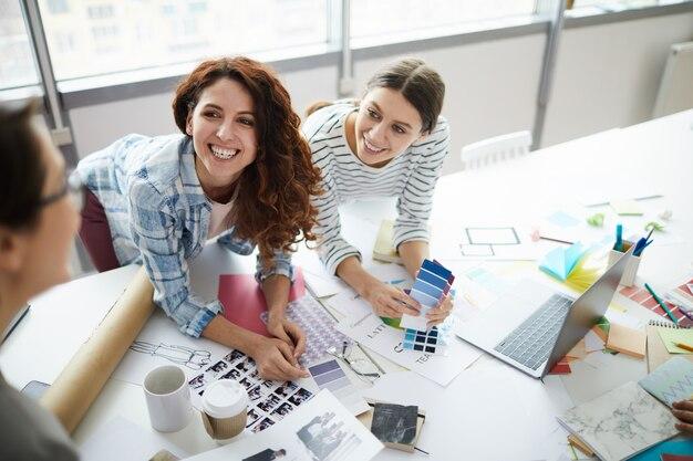 Creative womens team