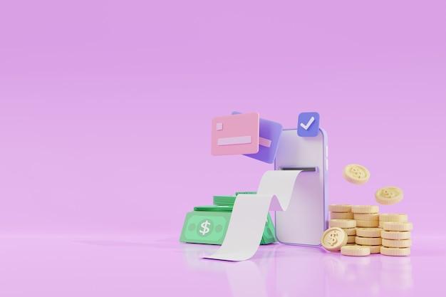 クレジットカード、およびクレジットカードの概念によるトランザクション支払いを備えたスマートフォン。スマートフォンとの安全なオンライン決済取引。ネットバンク