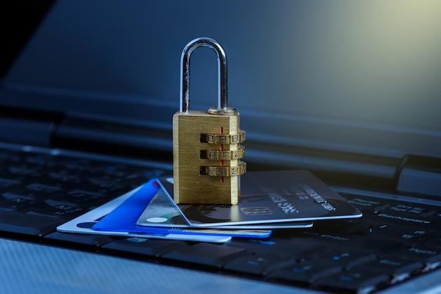 Credit card data security breach