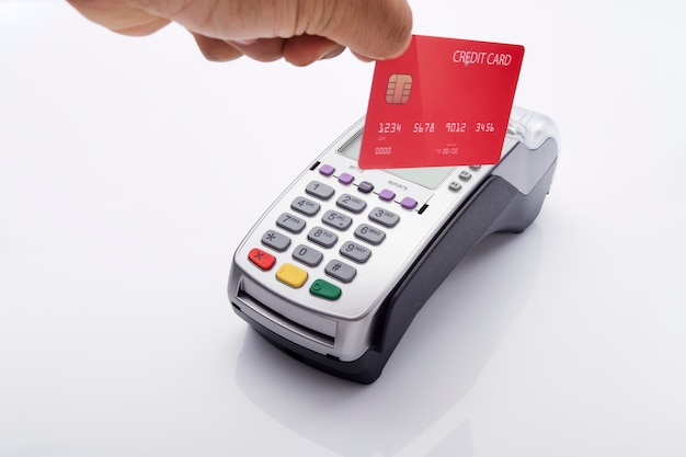 Credit card reader credit card machine reader
