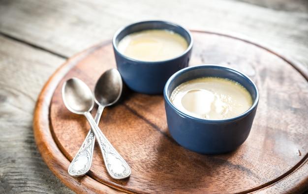鍋のクリームキャラメル