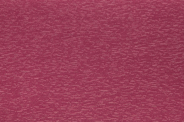 Crimson fabric blind curtain texture