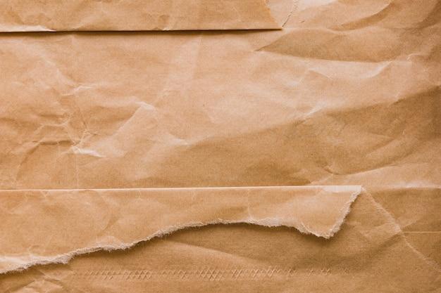 Crinkled cardboard texture
