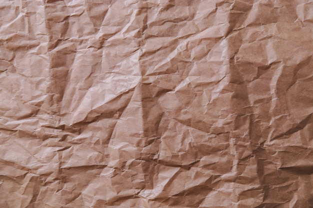 Crinkly paper texture Free Photo