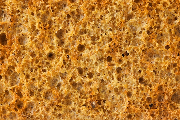 Crisp bread closeup horizontal background