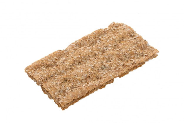 Crispbread isolated