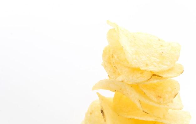 Crispy closeup fast fatty slice